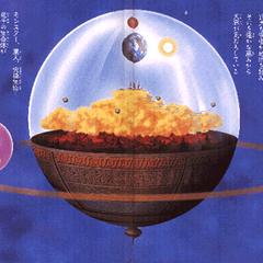 Siódmy Wszechświat przedstawiony w 4 tomie Daizenshū - słabsza jakość