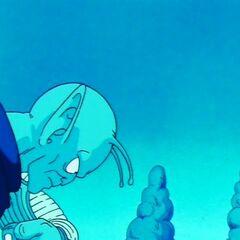 Poprzedni bóg odrzuca Piccolo z powodu tkwiącego weń zła (1)