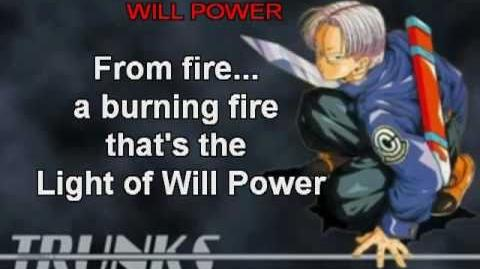 DBZ Hikari no Will Power Subbed- Trunks's Theme