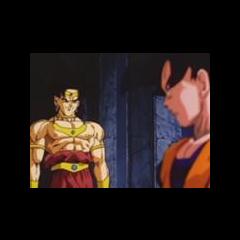 Pierwsze spotkanie  Son Gokū i Brolly'ego