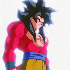 Goku Super Saiyanin 4