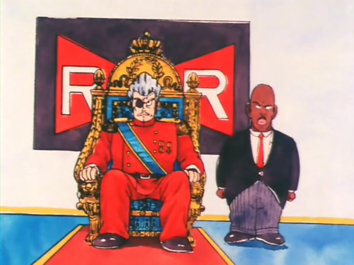 Dowódca Red na tronie