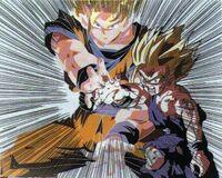 Son gohan i Goku kamehameha