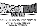 Dragon Ball Super, rozdział 044: Więzień Moro uciekł