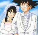 Goku i Chichi - ślub