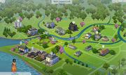 Willow Creek mapa