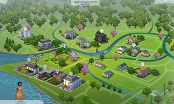 Willow Creek mapa