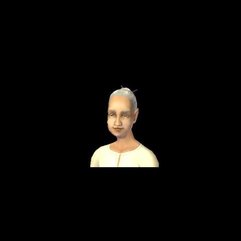 Portret Skierki jako staruszki znaleziony w SimPE