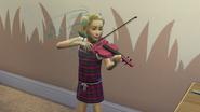 Granie na skrzypcach