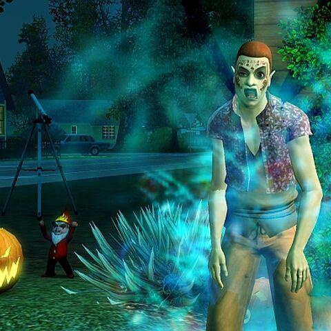 Oberon jako zombie.