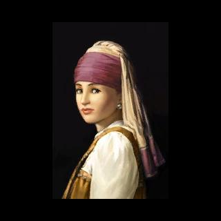 <i>Dziewczyna z perłą</i> autorstwa Johannesa Varmeera