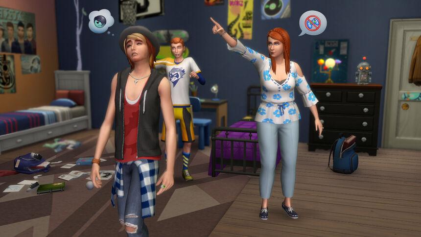 The Sims 4 Być rodzicem 1