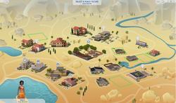 Oasis Springs mapa