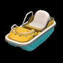 Rower wodny leniwy
