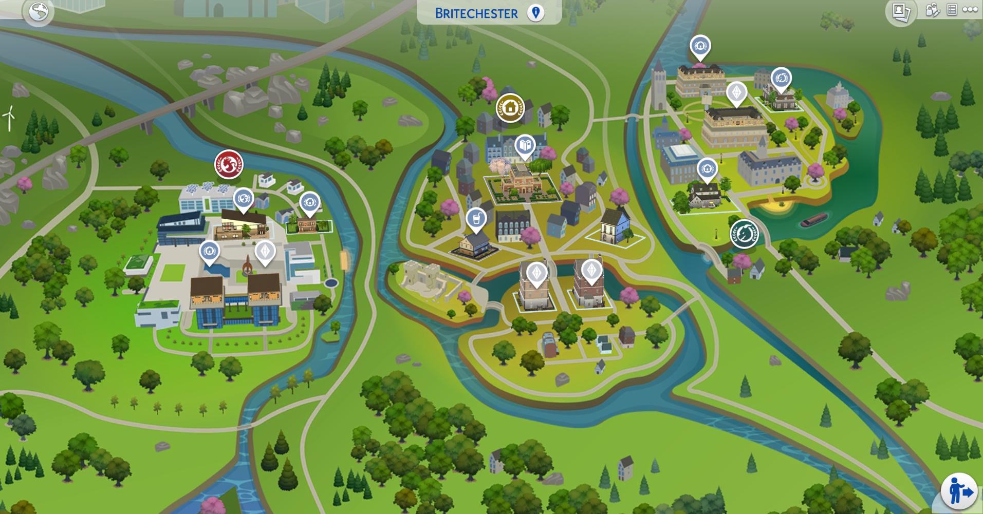 Sims 2 profesor uniwersytecki