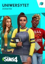 The Sims 4 Uniwersytet okładka