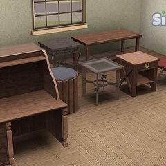 Stoły i biurka.