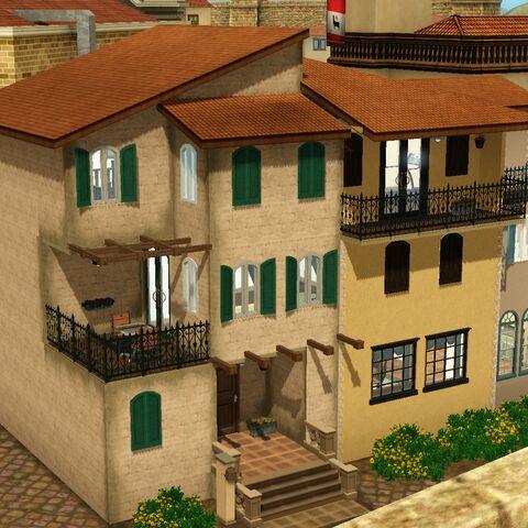 Dom rodziny Bianchi w grze