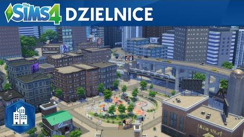 The Sims 4 Miejskie życie oficjalny zwiastun dzielnic