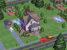 SimsVille Screen Dom