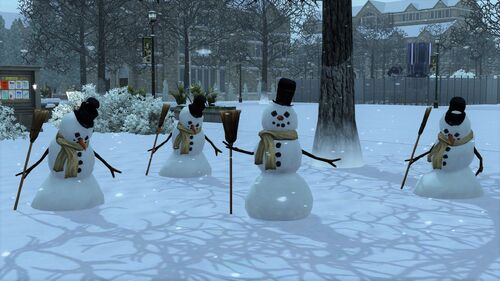 Bałwany w The Sims 3