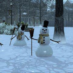 Standardowe bałwany w The Sims 3.