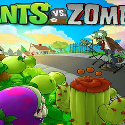 Gra Plants vs. Zombies z której pochodzą.
