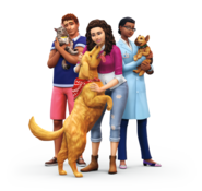 The Sims 4 Psy i koty render 1