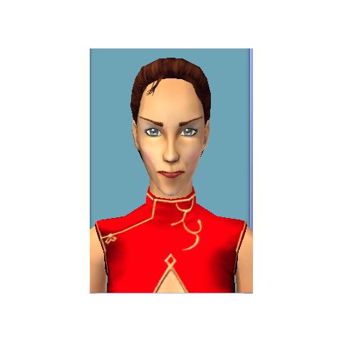 Grażyna w The Sims 2.