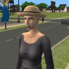 Agnieszka w The Sims 2 po ożywieniu