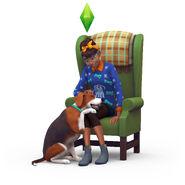 TS4 dog loyal