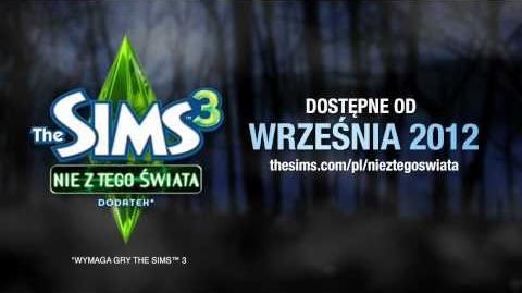 The Sims 3 Nie z tego świata - zwiastun