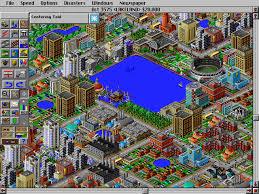 SimCity 2000. Miasto