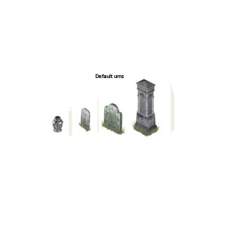 Nagrobki z The Sims