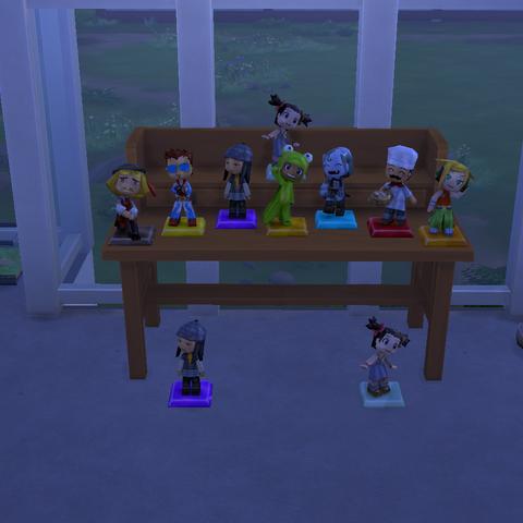 Postacie z MySims jako obiekty kolekcjonerskie w The Sims 4.