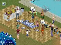 Przyjęcie w The Sims Balanga