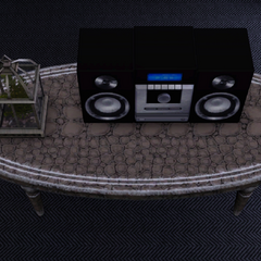 Radio w The Sims 3