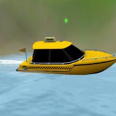 Wodna taksówka w The Sims 3 Rajska Wyspa