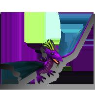 Purpurowy smok