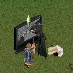 Mroczny Kosiarz w <i>The Sims Światowe Życie</i>