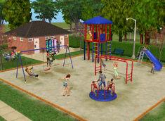 Plac zabaw w TS2