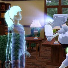 Plumbot przypominający dwójkowego Sługusa. Można to zauważyć po charakterystycznym światełku pod klatką piersiową, głowie oraz kończynach