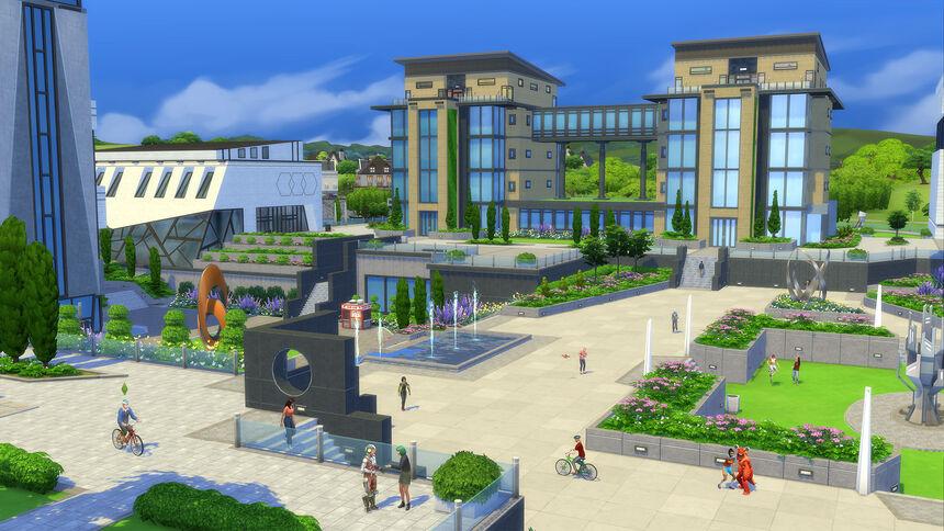 The Sims 4 Uniwersytet 3