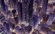 SimCity nocą