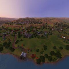 Część miasta położona w dolinie