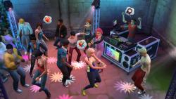 Przyjęcie w The Sims 4