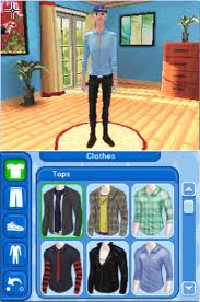 The Sims 3 (Nintendo DS). CAS