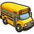 Autobus szkolny Ikona