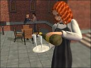 Cecylia Kwiatek w The Sims 2