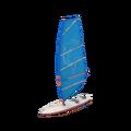 Mlody windsurfer